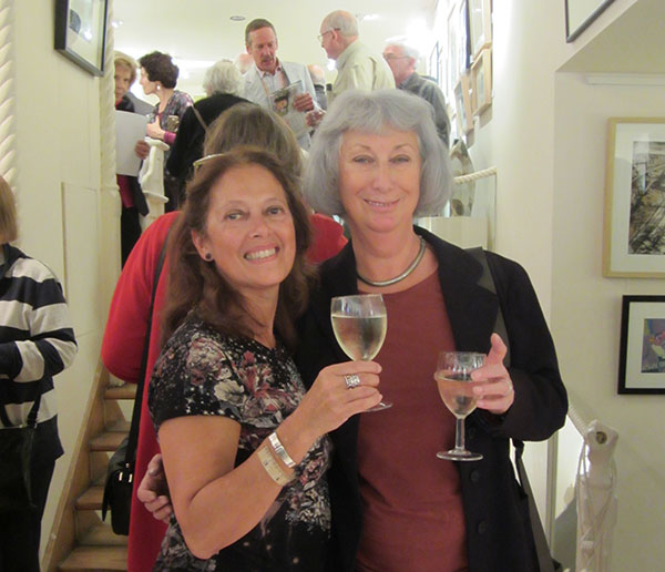 Dawn and Paula at Exhibition